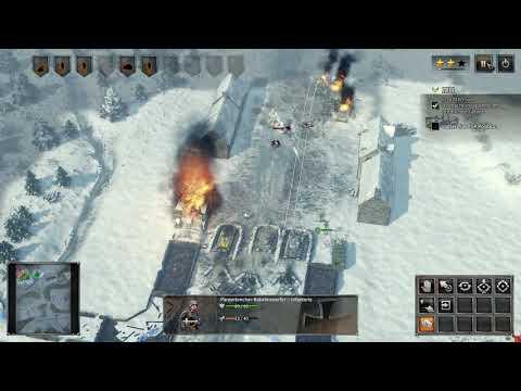 Sudden Strike 4. GamePlay.DE Deutsche Kampagne. Mission 7 b