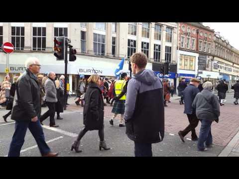 Prince Charles Edward Stuart in Derby Dec 6th 2015