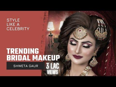 How to do Cut Crease Eye Makeup by Shweta Gaur Makeup Artist thumbnail