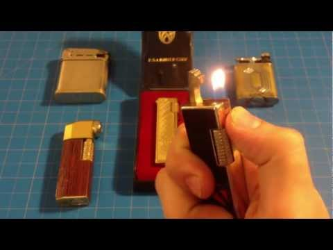 Vintage Pipe Lighters: Lilly, Colibiri, Beattie, The Golden Wheel, Sonex
