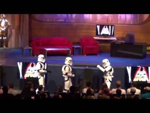 Funny StormTroopers Pre Show Star Wars Weekends 2014
