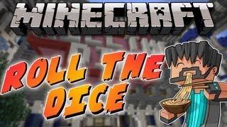 Minecraft Mini-Game : Roll the Dice w/ Vikkstar123
