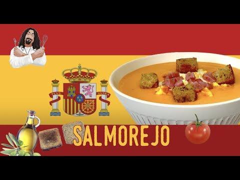 How To Make Salmorejo Cold Tomato Soup - Spain (2019) RockinRaffi Ep. 52