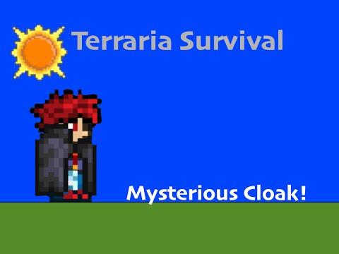 Terraria Survival Series 13 Mysterious Cloak Youtube