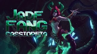 League Skins - Jade Fang Cassiopeia (Ability Effects, Animations & Emotes)