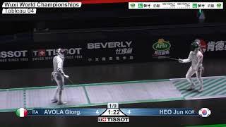 Wuxi 2018 Fencing World Championships mf t04 ITA vs KOR