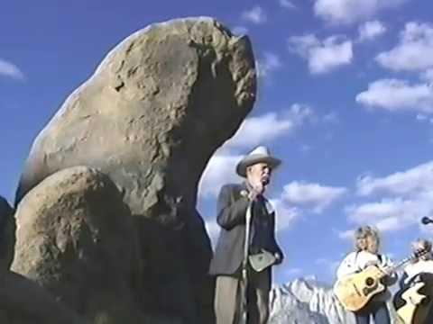 Eulogy for Richard Farnsworth at Lone Pine, CA 2000