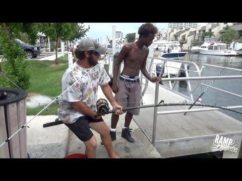 Insane Street Fishing - 350lb Ramp Monster