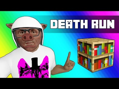 Gmod Deathrun Funny Moments - Minecraft Edition! (Knowledge)