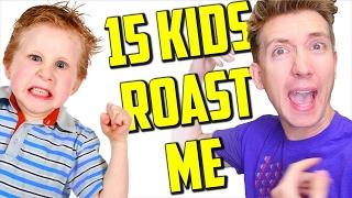 15 Kids ROAST Me (Diss Track)