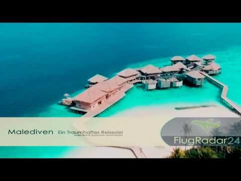 TRAVEL TIP : TROPICAL MALEDIVES (HD) FLUGRADAR24.INFO
