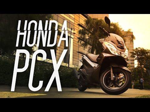 Honda PCX 2016 - Teste Webmotors