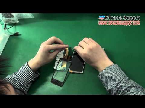 HTC EVO shift 4G Proceso de Ensamblar