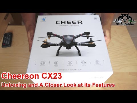 Cheerson CX23 Cheap GPS Quadcopter Unboxing