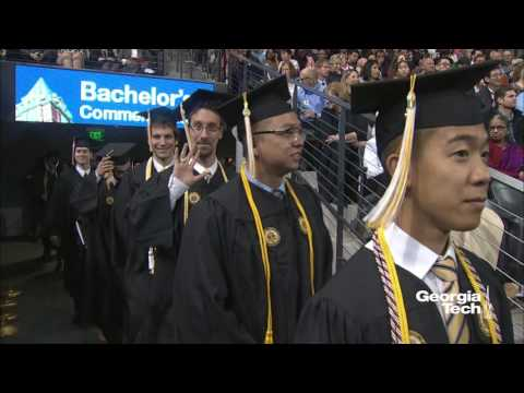 Georgia Tech Bachelor's Commencement Fall 2016