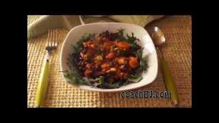 Coachbj's Plant-based No Chop Pressure Cooker Black Bean Chili