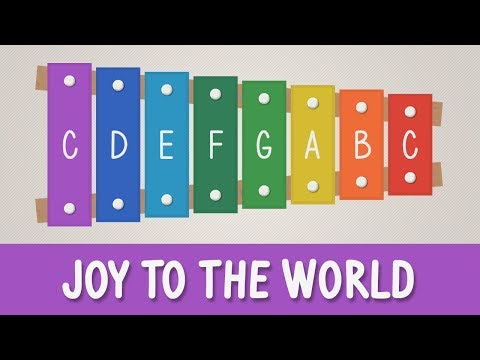 How To Play Joy To The World On A Xylophone - Christmas Songs