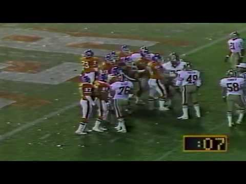 49ers Snowball incident in Denver 1985