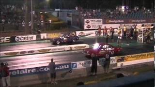 Australia vs Puerto Rico Drag Cars