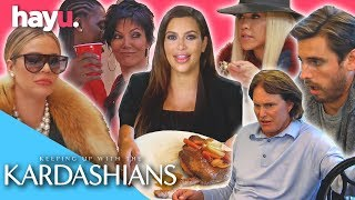 Table Manners 101 With The Kardashians | Keeping Up With The Kardashians