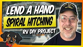 Lend a hand - RV handle - spiral hitching project #38