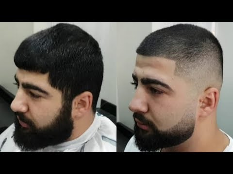 3 Numara Makine Trasi Kisa Erkek Sac Kesimi Skin Fade Haircut