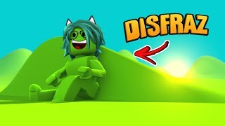 I DISGUISE MOCO🤮 in ROBLOX (ESCONDITE)😱