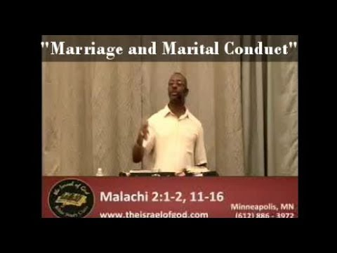 "IOG Minneapolis - ""Marriage and Marital Conduct"""
