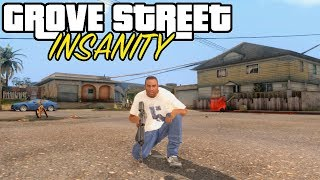 Скачать GTA San Andreas PC Grove Street INSANITY Mod 1080p