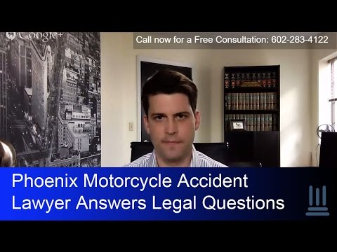 Phoenix Motorcycle Accident Lawyer Answers Legal Questions | Kelly Law Team