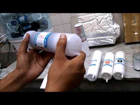 RO Service & Filter Cartridges Installation