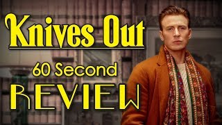 Knives Out 60 Second Review (NO Spoilers) | CinemaWins