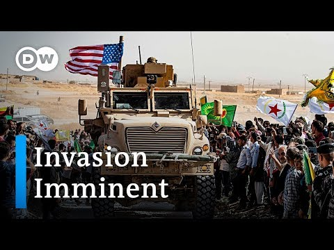 Turkey set to invade northern Syria after US gives blessing | DW News