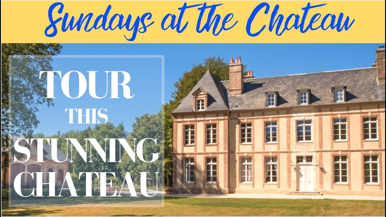 TOUR THIS STUNNING 20TH CENTURY CHATEAU