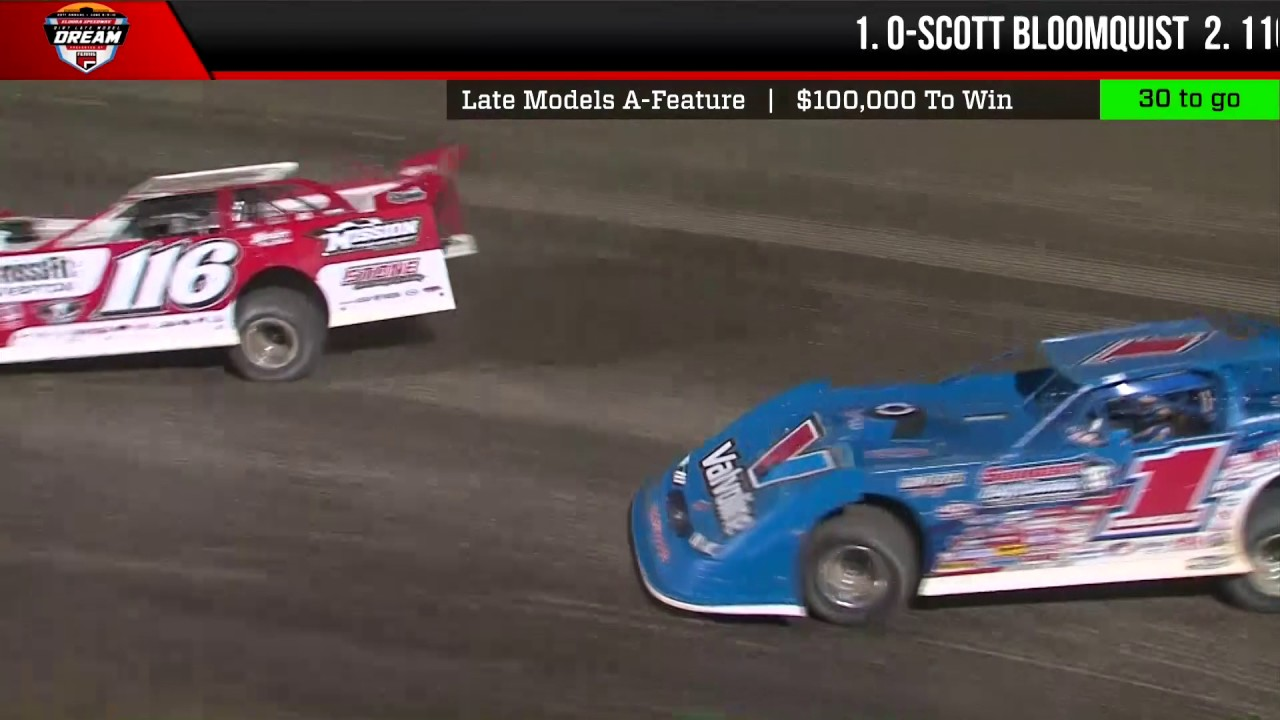 23rd annual dirt late model dream feature highlights youtube. Black Bedroom Furniture Sets. Home Design Ideas