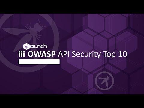 OWASP API Security Top 10 Webinar