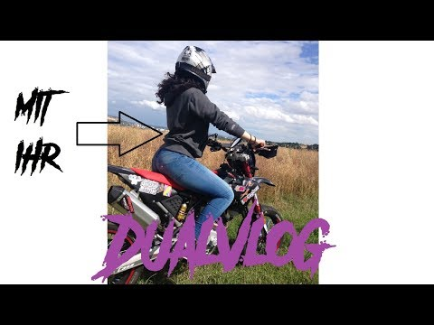 Deshalb sollten Mädchen Motorrad fahren !   Dualvlog mit Lea😍   Racy