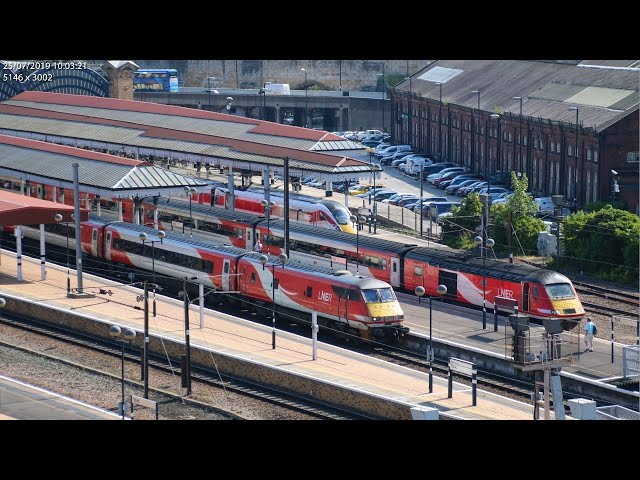 York ROC Camera 1, Yorkshire UK - in Partnership with Network Rail | Railcam LIVE