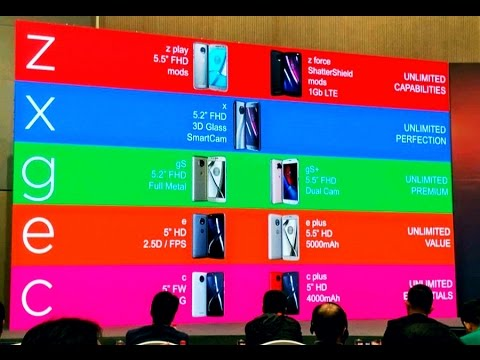 2017 Motorola Smartphones!! Moto GS and Moto GS Plus