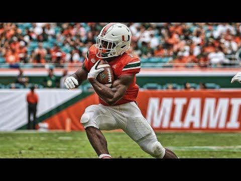 Bengals Fourth Round Pick Rb Mark Walton The Round Don T