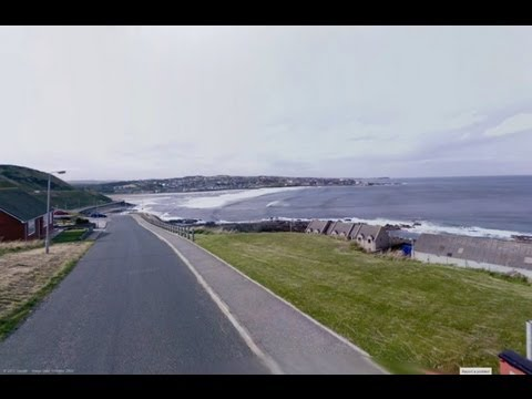Banff to Macduff Scotland Street View Speed Run