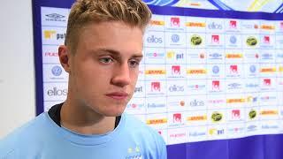 Mattias Svanberg efter matchen mot Elfsborg
