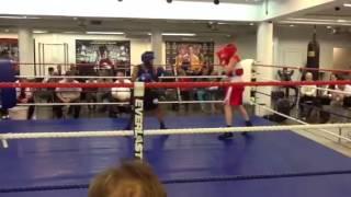 Nyrkkeily C-juniorit: Carl - Max Erä 2 (6.4.2013)