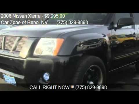 2006 nissan xterra s 2wd for sale in reno nv 89502 youtube. Black Bedroom Furniture Sets. Home Design Ideas