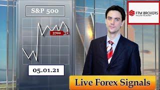 Американская торговая сессия Аналитика валютного рынка от Калмановича Олега 05 01 21 EURUSD GBPUSD