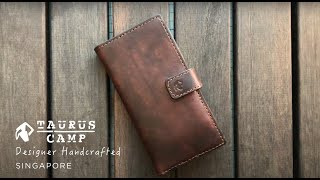 Making of iPhone 11 Pro Handmade Leather Case. DIY Leather Craft