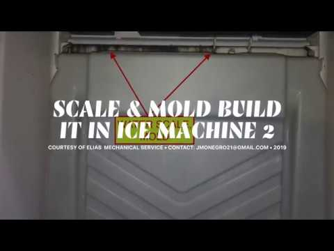 CLEAN & SANITIZER ICE MACHINE (SCALE & MOLD BUILD UP).