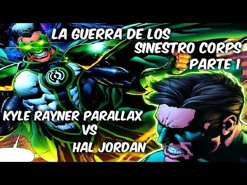 """LINTERNAS VERDES Vs LINTERNAS AMARILLOS """"LA Guerra De Los Sinestro Corps """"Parte 1"""" @SoyComicsTj"""