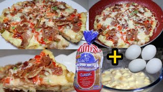 Frying Pan Pizza Recipe  Quick &amp Easy Pizza  No Bake  No Knead