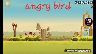 Vuela pajaro-angry birds#1